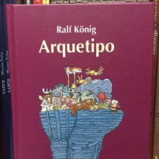 Cómics: ARQUETIPO, DE RALF KONIG. LA CÚPULA. Lote 248303975