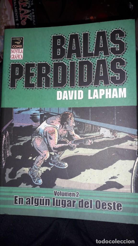 BALAS PERDIDAS, DE DAVID LAPHAM - #VOLÚMEN 2: EN ALGÚN LUGAR DEL OESTE (NOVELA GRÁFICA) (Tebeos y Comics - La Cúpula - Comic USA)