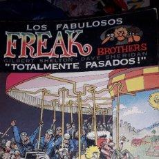 "Fumetti: LOS FABULOSOS FREAK BROTHERS ""TOTALMENTE PASADOS"" - GILBERT SHELTON/DAVE SHERIDAN (1° ED. 1981). Lote 249265930"