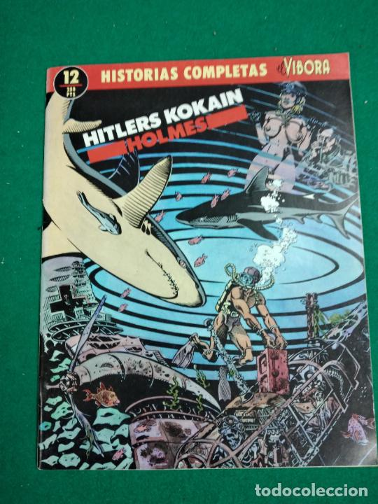 HISTORIAS COMPLETAS EL VIBORA Nº 12. RAND HOLMES. HITLERS KOKAIN.. EDICIONES LA CUPULA. (Tebeos y Comics - La Cúpula - El Víbora)