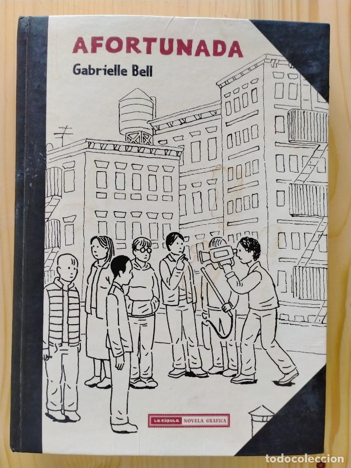AFORTUNADA; GABRIELLE BELL (ED. LA CÚPULA) (Tebeos y Comics - La Cúpula - Comic USA)