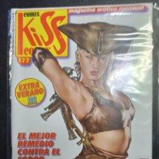 Cómics: KISS COMIX Nº 177 MAGAZINE EROTICO MENSUAL, SOLO PARA ADULTOS. MUY BUEN ESTADO.. Lote 252171220