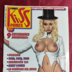 Comics : KISS COMIX · Nº 151. MAGAZINE ERÓTICO MENSUAL. EDICIONES LA CUPULA.. Lote 252400425