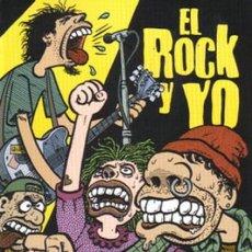 Comics : EL ROCK Y YO. JOE SACCO. Lote 252407370