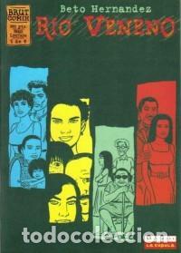 RÍO VENENO. BETO HERNÁNDEZ. BRUT COMIX. COMPLETA. 4 CUADERNOS. (Tebeos y Comics - La Cúpula - Comic USA)