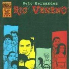 Fumetti: RÍO VENENO. BETO HERNÁNDEZ. BRUT COMIX. COMPLETA. 4 CUADERNOS.. Lote 252431030