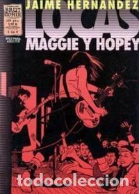LOCAS. MAGGIE Y HOPEY. JAIME HERNÁNDEZ. BRUT COMIX. 6 CUADERNILLOS (Tebeos y Comics - La Cúpula - Comic USA)