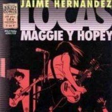 Fumetti: LOCAS. MAGGIE Y HOPEY. JAIME HERNÁNDEZ. BRUT COMIX. 6 CUADERNILLOS. Lote 252473530