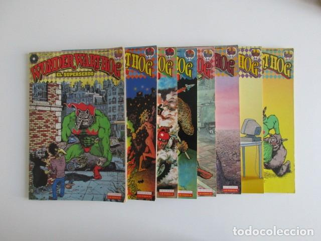 EL SUPERSERDO 8 NÚMEROS WONDERWARTHOG SHELTON LA CÚPULA (Tebeos y Comics - La Cúpula - Comic USA)