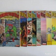 Cómics: EL SUPERSERDO 8 NÚMEROS WONDERWARTHOG SHELTON LA CÚPULA. Lote 252634780