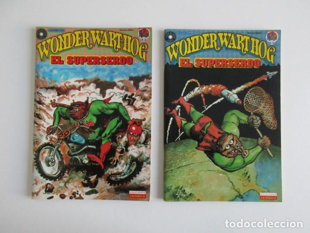 Cómics: EL SUPERSERDO 8 NÚMEROS WONDERWARTHOG SHELTON LA CÚPULA - Foto 3 - 252634780