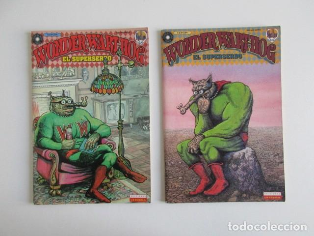 Cómics: EL SUPERSERDO 8 NÚMEROS WONDERWARTHOG SHELTON LA CÚPULA - Foto 4 - 252634780