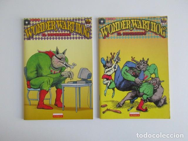 Cómics: EL SUPERSERDO 8 NÚMEROS WONDERWARTHOG SHELTON LA CÚPULA - Foto 5 - 252634780