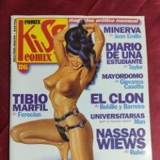 Comics : KISS COMIX · Nº 86. MAGAZINE ERÓTICO MENSUAL. EDICIONES LA CUPULA.. Lote 252704725