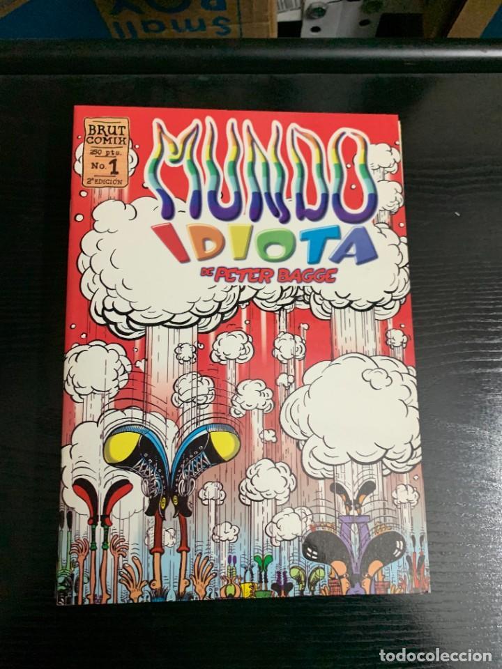 Cómics: Mundo idiota, de Peter Bagge. Completa. 13 números. Brut Comix - Foto 2 - 253730845