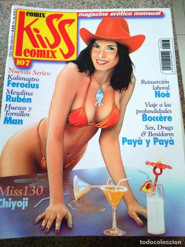 KISS COMIX Nº 107 -- LA CUPULA -- (Tebeos y Comics - La Cúpula - Comic Europeo)