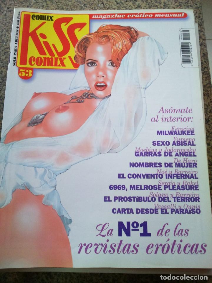 KISS COMIX Nº 53 -- LA CUPULA -- (Tebeos y Comics - La Cúpula - Comic Europeo)