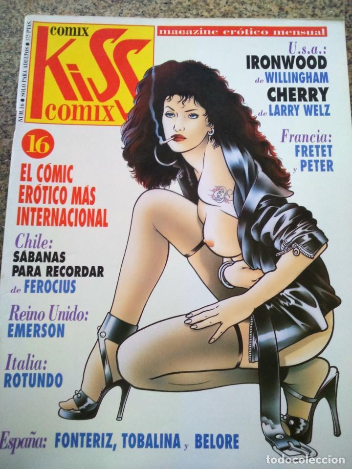 KISS COMIX Nº 16 -- LA CUPULA -- (Tebeos y Comics - La Cúpula - Comic Europeo)