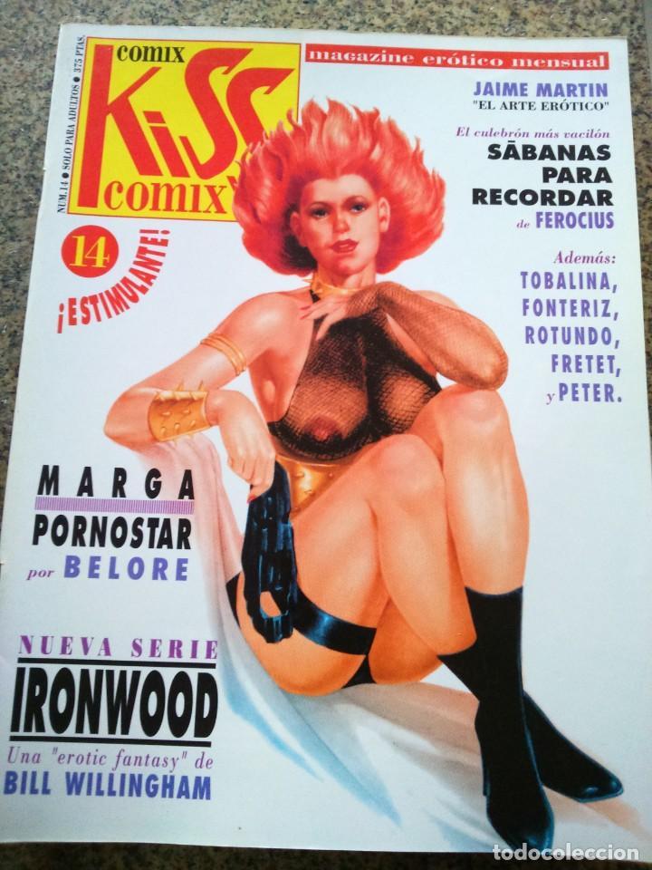 KISS COMIX Nº 14 -- LA CUPULA -- (Tebeos y Comics - La Cúpula - Comic Europeo)