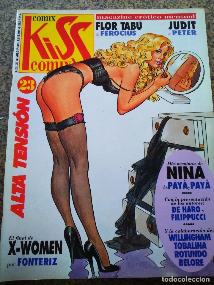 KISS COMIX Nº 23 -- LA CUPULA -- (Tebeos y Comics - La Cúpula - Comic Europeo)