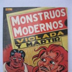 Cómics: MONSTRUOS MODERNOS - MARTÍ - EDICIONES LA CÚPULA - AÑO 1988.. Lote 254392225