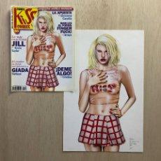 Cómics: PORTADA ORIGINAL KISS COMIX ºN 80 (1998). Lote 254794850