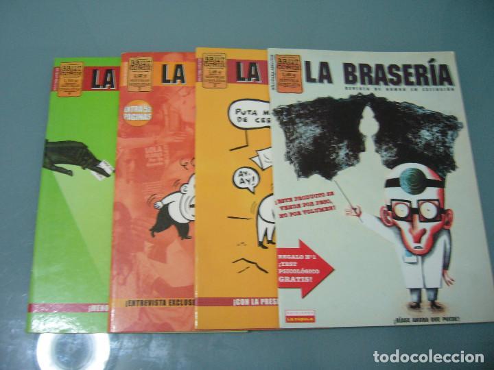 LA BRASERÍA 1 2 3 4 (Tebeos y Comics - La Cúpula - Autores Españoles)