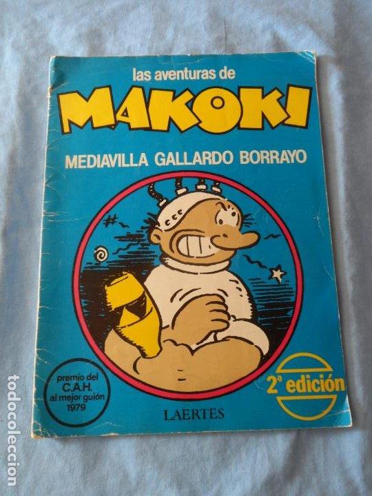 LAS AVENTURAS DE MAKOKI, PREMIO DEL CAH AL MEJOR GUIÓN. 2ª EDICIÓN 1979. LAERTES. (Tebeos y Comics - La Cúpula - Autores Españoles)