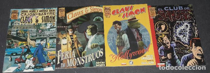 Cómics: LOTE DE 4 COMICS EL CLUB DE SANGRE + CLAUS & SIMON BRUT COMIX ARCAS Y ACUÑA. CHARLES BURNS - Foto 2 - 255482895