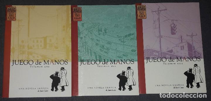 JUEGO DE MANOS COMPLETA 3 COMICS COMIX BRUT JASON LUTES (Tebeos y Comics - La Cúpula - Comic Europeo)