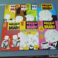 Cómics: BRIAN THE BRAIN 1 2 3 4 5 6 7 - MIGUEL ANGEL MARTÍN.. Lote 255570745