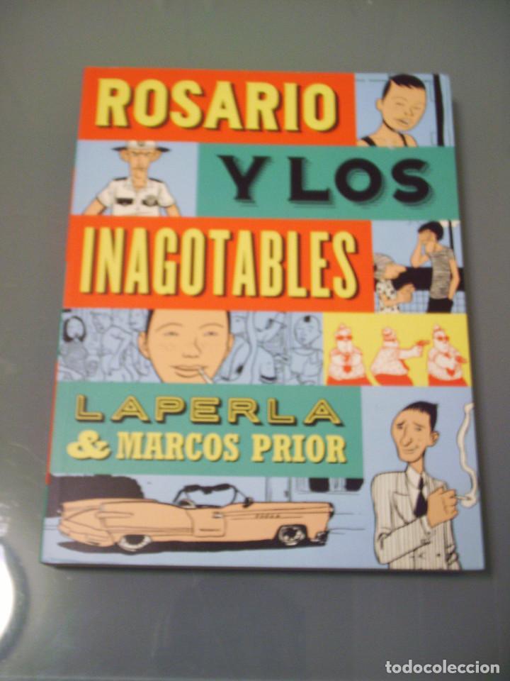 ROSARIO Y LOS INAGOTABLES (Tebeos y Comics - La Cúpula - Autores Españoles)