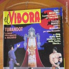 Cómics: EL VIBORA REVISTA Nº 148 - TURANDOT - NICOTINA ETC. Lote 258168050