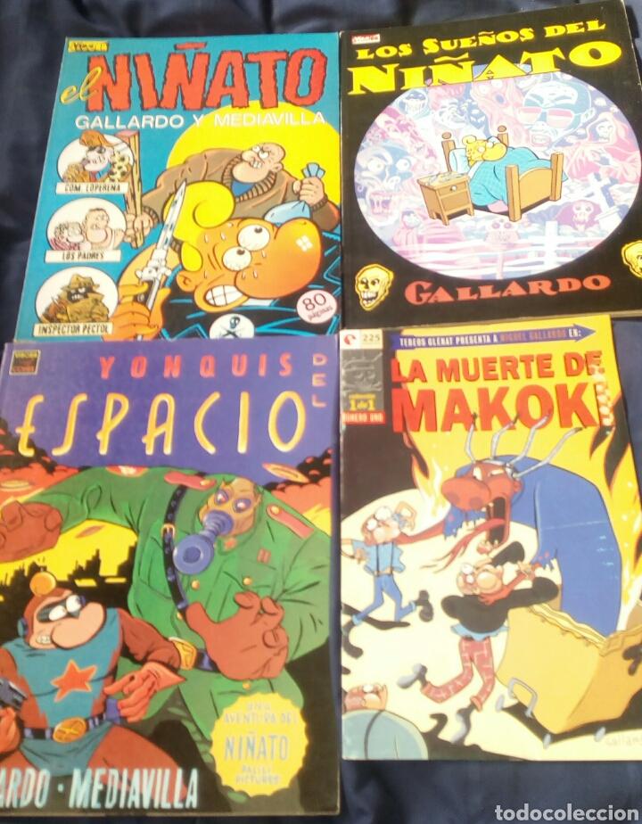 LOTE CÓMICS EL NIÑATO. MAKOKI. GALLARDO - MEDIAVILLA. LA CÚPULA (Tebeos y Comics - La Cúpula - Autores Españoles)