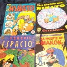 Comics: LOTE CÓMICS EL NIÑATO. MAKOKI. GALLARDO - MEDIAVILLA. LA CÚPULA. Lote 258998370