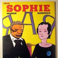 Cómics: MUÑOZ - SAMPAYO - SOPHIE - BARCELONA 1984 - ILUSTRADO. Lote 260001195