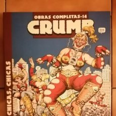 Comics : OBRAS COMPLETAS ROBERT CRUMB 14 - CHICAS, CHICAS, CHICAS - LA CUPULA. Lote 260408905