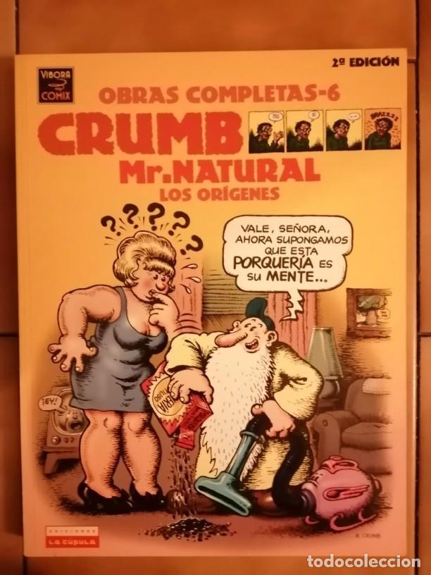 OBRAS COMPLETAS ROBERT CRUMB 6 - MR. NATURAL LOS ORIGENES 2ª EDICION 2001- LA CUPULA (Tebeos y Comics - La Cúpula - Comic USA)