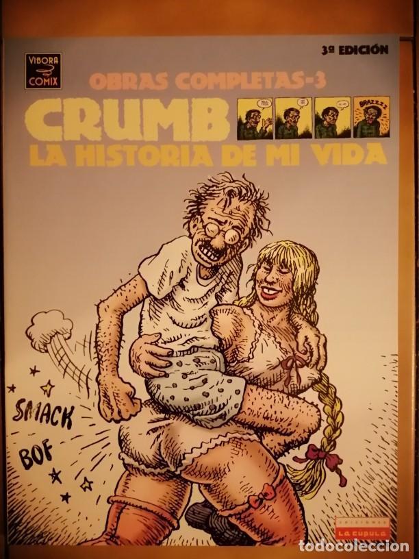 OBRAS COMPLETAS ROBERT CRUMB 3 - LA HISTORIA DE MI VIDA 3ª EDICION 2004- LA CUPULA (Tebeos y Comics - La Cúpula - Comic USA)