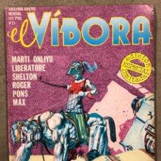 Cómics: EL VÍBORA COMIX N° 23 (EDICIONES LA CÚPULA 1981). LIBERATORE, CEESEPE, ONLIYU, PONS, ROGER,. Lote 261584495