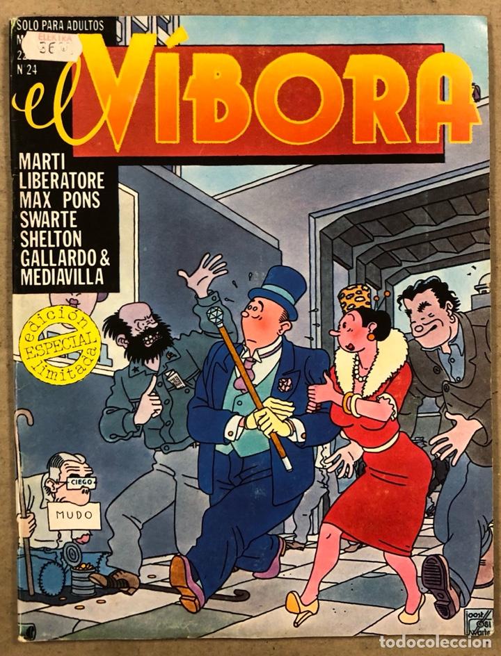 EL VÍBORA COMIX N° 24 (EDICIONES LA CÚPULA 1981). SWARTE, CEESEPE, CALONGE, GALLARDO Y MEDIAVILLA (Tebeos y Comics - La Cúpula - El Víbora)