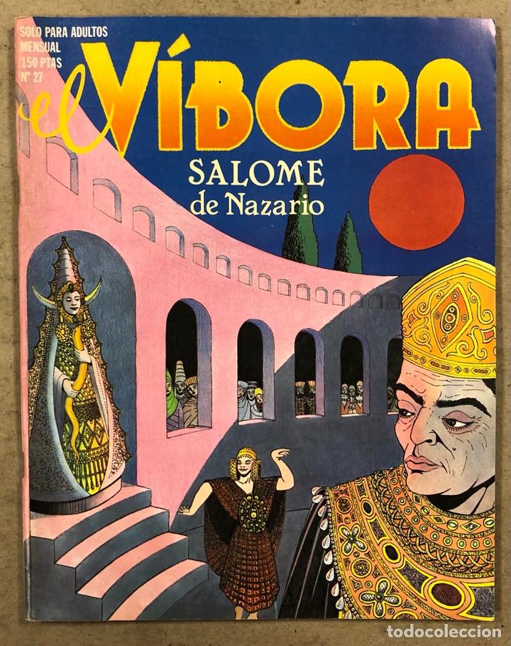 EL VÍBORA COMIX N° 27 (EDICIONES LA CÚPULA 1982). NAZARIO, CEESEPE, CIFRÉ, MAX Y MIR, GALLARDO (Tebeos y Comics - La Cúpula - El Víbora)