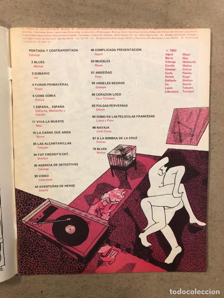 Cómics: EL VÍBORA COMIX N° 30 (EDICIONES LA CÚPULA 1982). ISA, ONLIYU, GALLARDO, MEDIAVILLA, CARULLA, CALONG - Foto 2 - 261588345