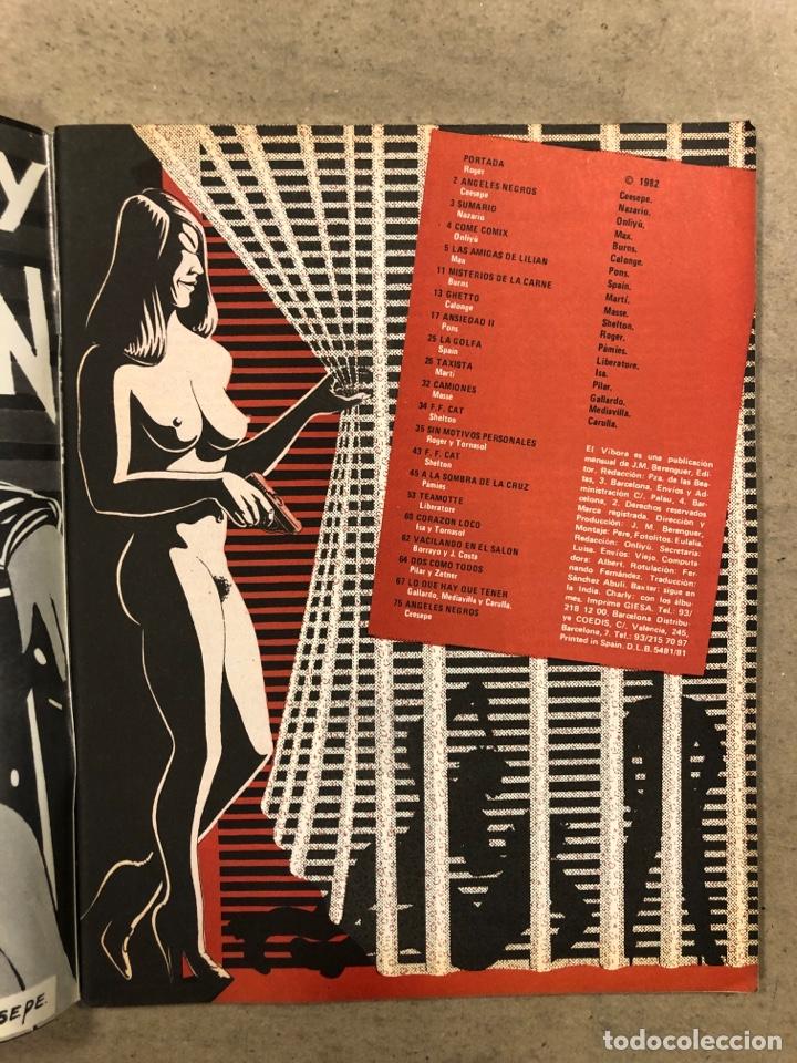 Cómics: EL VÍBORA COMIX N° 31 (EDICIONES LA CÚPULA 1982). ROGER, CEESEPE, NAZARIO, ONLIYÚ, MAX, SHELTON - Foto 2 - 261589015