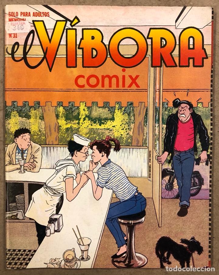 EL VÍBORA COMIX N° 31 (EDICIONES LA CÚPULA 1982). ROGER, CEESEPE, NAZARIO, ONLIYÚ, MAX, SHELTON (Tebeos y Comics - La Cúpula - El Víbora)