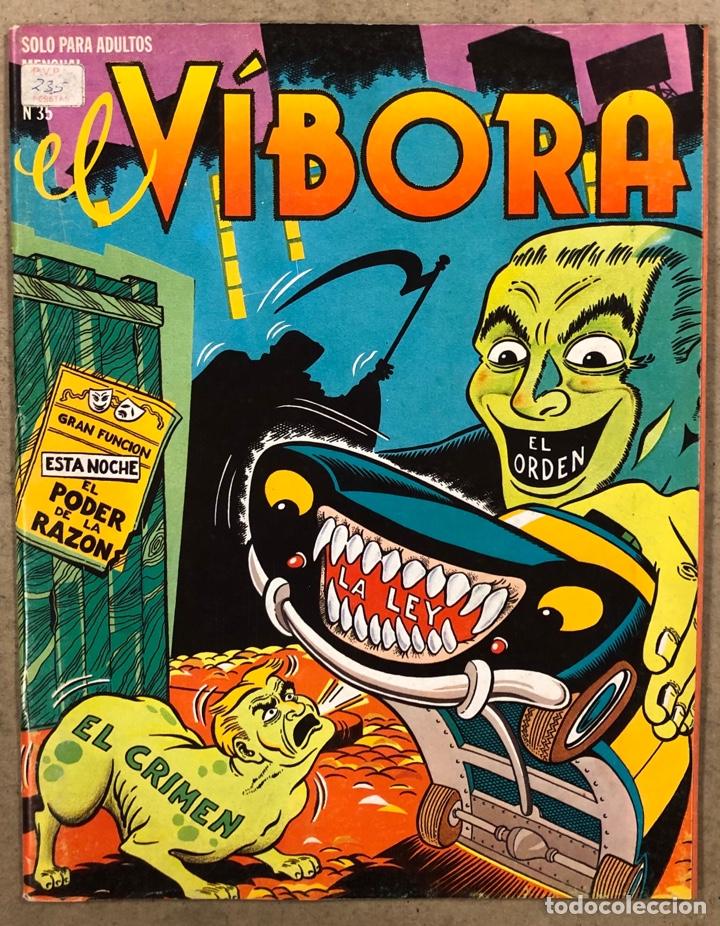 EL VÍBORA COMIX N° 35 (EDICIONES LA CÚPULA 1982). MARTÍ, CRUMB, PONS, CALONGE, MARTÍ, MAX (Tebeos y Comics - La Cúpula - El Víbora)