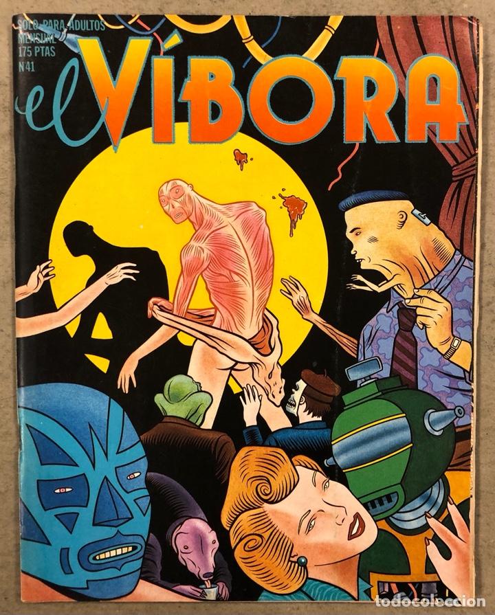 EL VÍBORA COMIX N° 41 (EDICIONES LA CÚPULA 1983). ONLIYÚ, GALLARDO, PONS, CRUMB, CEESEPE, (Tebeos y Comics - La Cúpula - El Víbora)