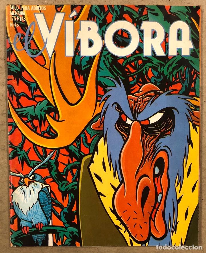 EL VÍBORA COMIX N° 45 (EDICIONES LA CÚPULA 1983). MAX, ROGER, ONLIYÚ, MARTÍ, PONS, GALLARDO,.., (Tebeos y Comics - La Cúpula - El Víbora)