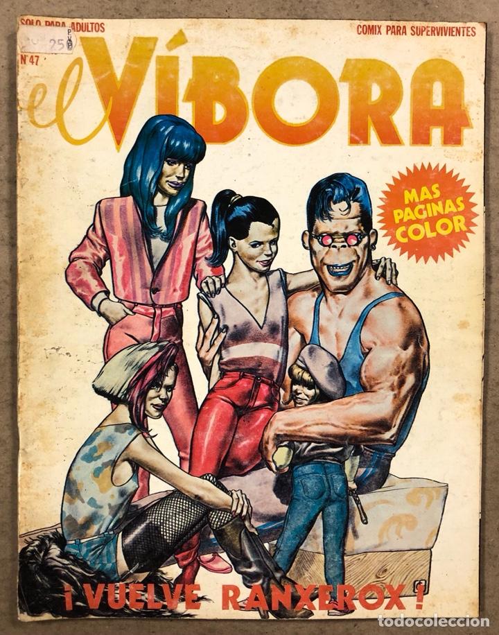 EL VÍBORA COMIX N° 47 (EDICIONES LA CÚPULA 1983). LIBERATORE, ONLIYÚ, GALLARDO, CRUMB, ROGER (Tebeos y Comics - La Cúpula - El Víbora)