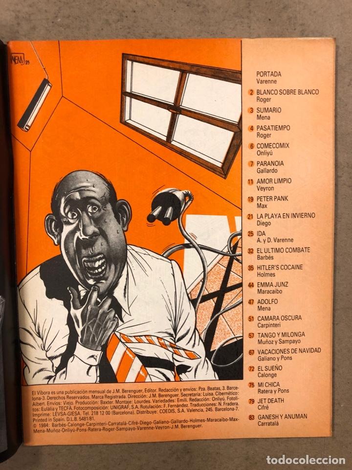 Cómics: EL VÍBORA COMIX N° 51 (EDICIONES LA CÚPULA 1983). ROGER, MENA, MAX, GALLARDO, CALONGE,... - Foto 2 - 261598080